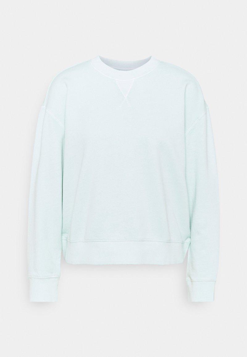Marc O'Polo DENIM - LONGSLEEVE CREWNECK - Sweatshirt - light carib