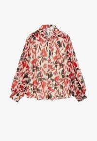 Mango - FLORALIS - Button-down blouse - ecru - 5
