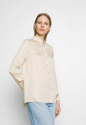 BLOUSE SLEEVE - Košile - winter sand