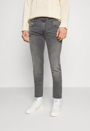ANBASS - Slim fit -farkut - medium grey