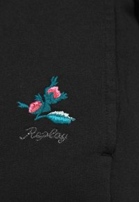 Replay - ROSE COLLECTION PANTS - Pantaloni sportivi - black - 6