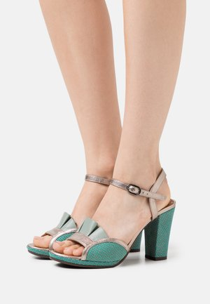 AKAELA - Sandals - dali iron/freya fango/pina blue