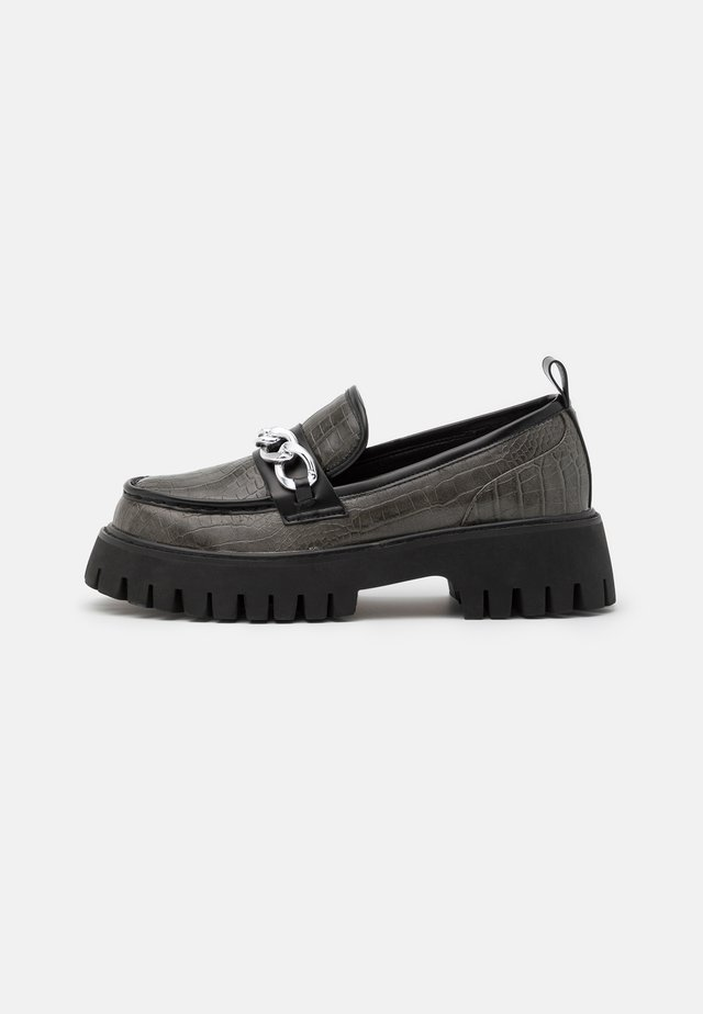 VEGAN VIING - Mocassins - black