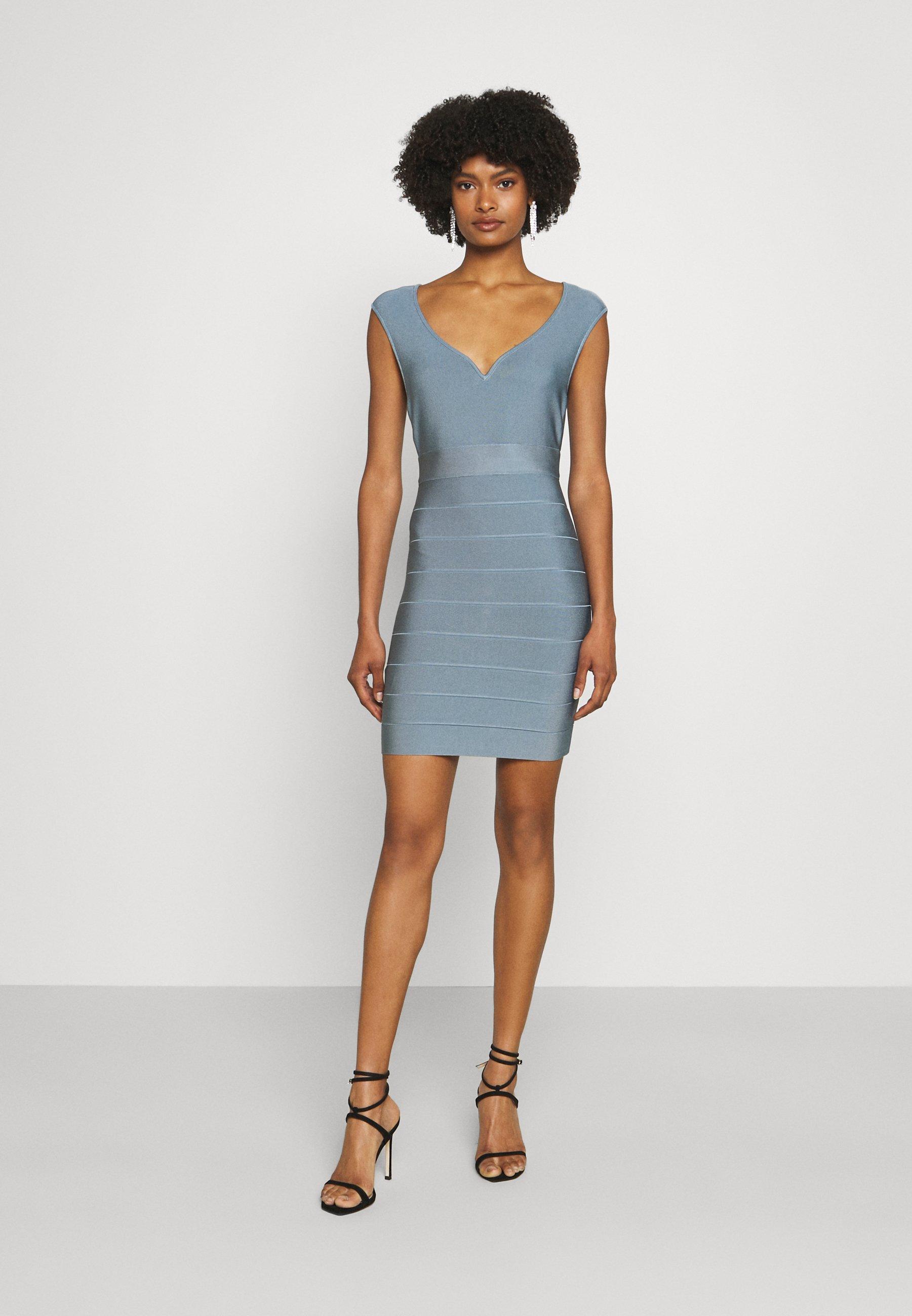 Women SWEETHEART CAP ICON DRESS - Shift dress