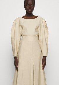 3.1 Phillip Lim - PLEATED A LINE SKIRT - A-line skirt - beige - 3