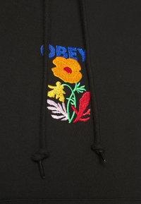 Obey Clothing - CORBEN HOOD - Collegepaita - black - 5