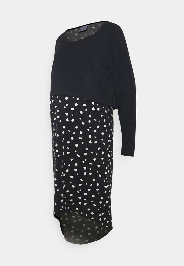 MLARIANNA DRESS  - Žerzejové šaty - salute / snow white