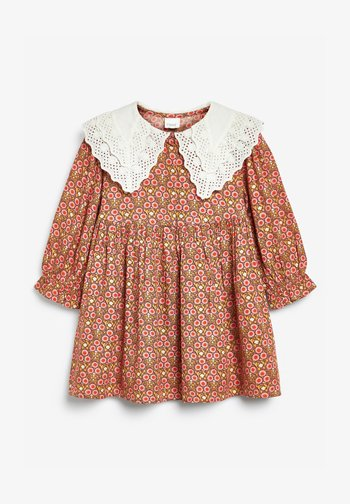 BRODERIE COLLAR - Day dress - multi coloured