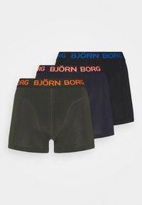 Björn Borg - NEON SOLID SAMMY 3 PACK - Underkläder - rosin - 4