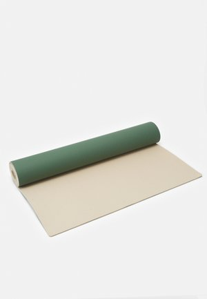 ECO MAT GRIP 4MM - Fitness / Yoga - green/natural