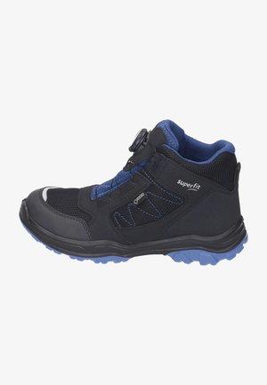 Ankle boots - schwarz/blau