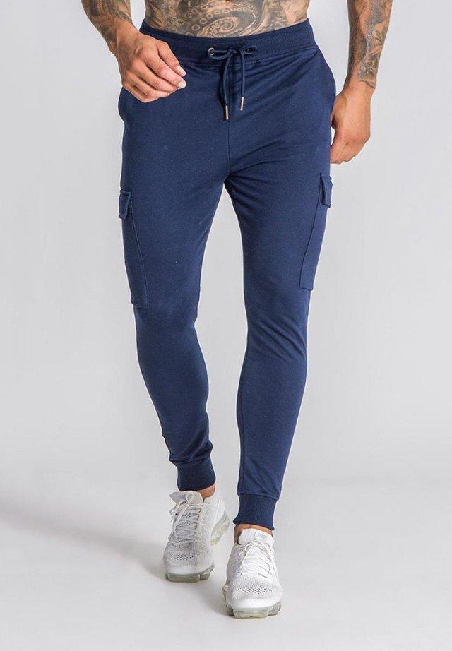 Pantalones deportivos - navy blue