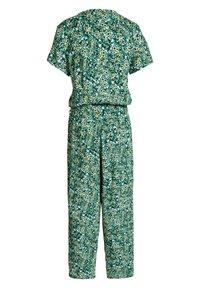 WE Fashion - MET DESSIN - Jumpsuit - dark green - 4