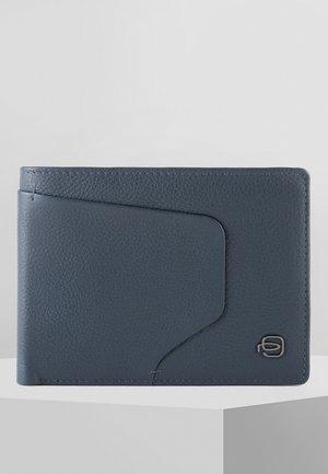 PIQUADRO AKRON GELDBÖRSE RFID LEDER 13 CM - Wallet - blue