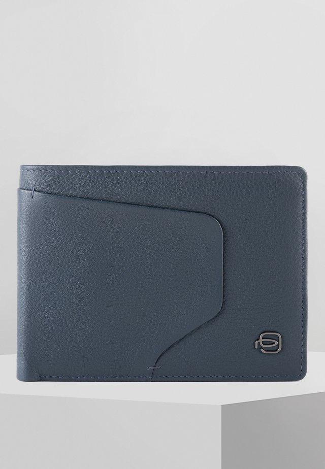 PIQUADRO AKRON GELDBÖRSE RFID LEDER 13 CM - Geldbörse - blue