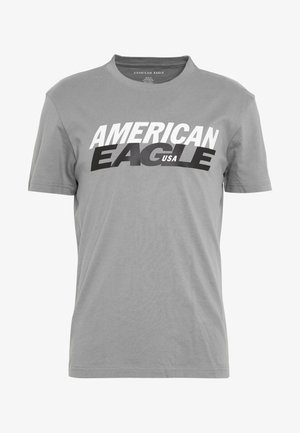 TEE BRAND - T-shirt con stampa - gray