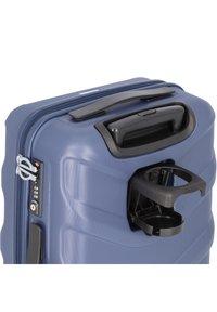 Stratic - ARROW 2 4-ROLLEN KABINENTROLLEY 55 CM - Wheeled suitcase - blue - 5