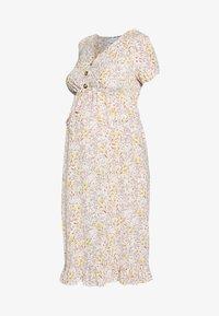 MAMALICIOUS - MLCAMMI DRESS - Sukienka letnia - snow white - 4