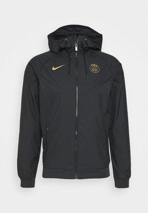 PARIS ST GERMAIN - Club wear - black/truly gold