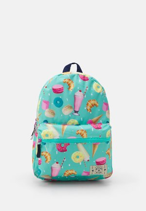 BACKPACK MILKY KISS STAY CUTE SWEET DONUT UNISEX - Rucksack - mint