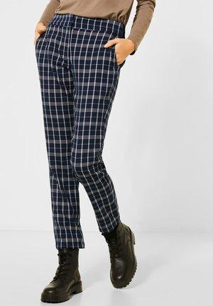 MIT KARO - Trousers - blau