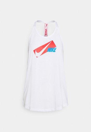 DRY ELASTIKA - Treningsskjorter - white/chile red
