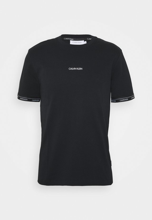 LOGO CUFF - Print T-shirt - black