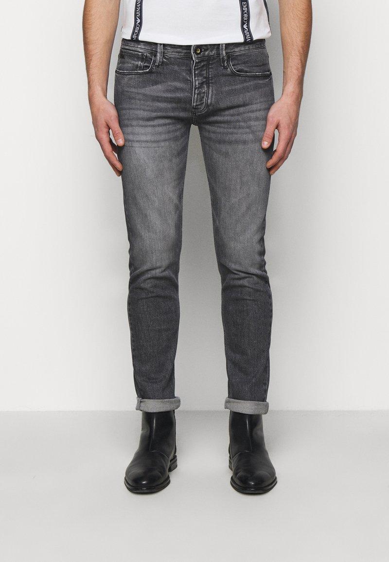 Emporio Armani - Jean slim - grey denim
