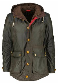 Barbour - GAME WAXED - Parka - oliv - 3