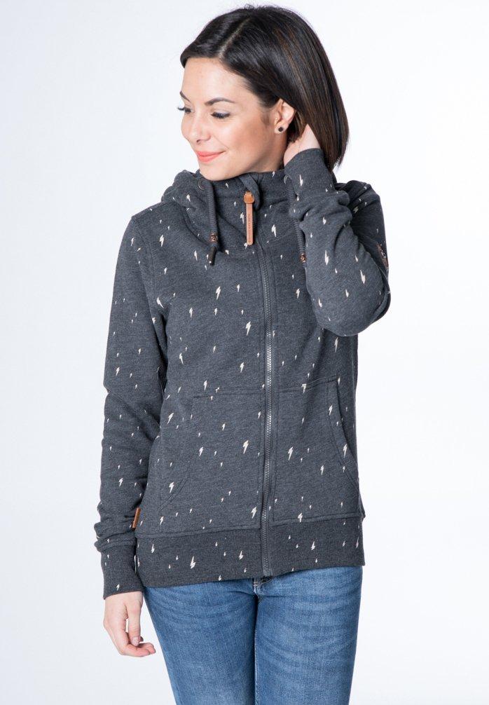 alife & kickin - YASMIN  - Zip-up hoodie - black
