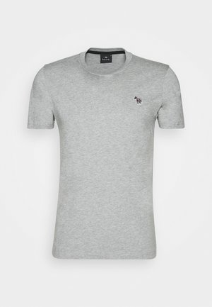 SLIM FIT ZEBRA - T-shirt basic - mottled grey