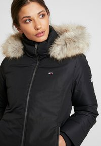 Tommy Jeans - HOODED JACKET - Down jacket - black - 5