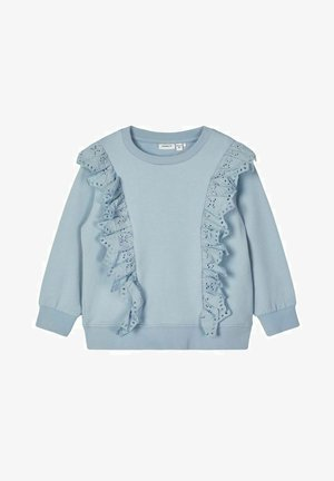 Sweatshirt - dusty blue