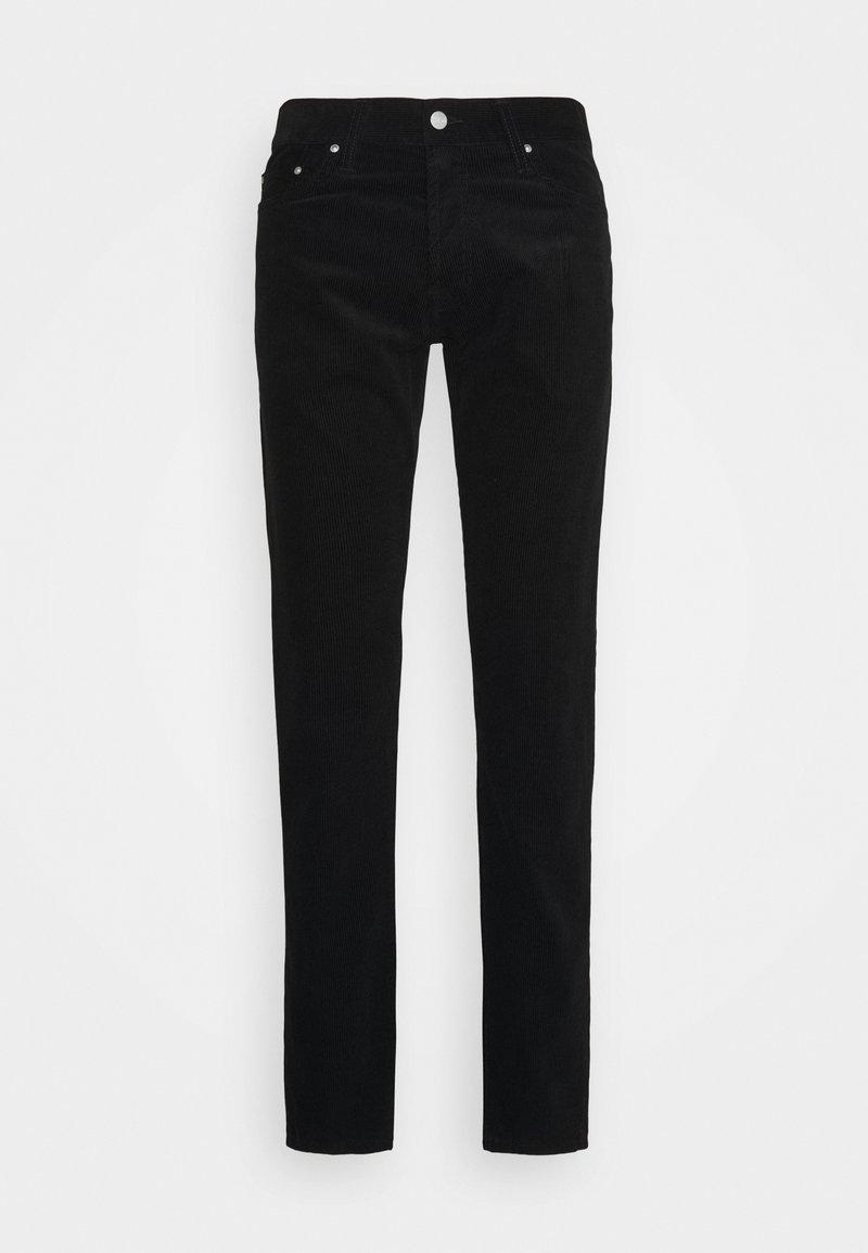 Carhartt WIP - KLONDIKE PANT ALBANY - Pantalon classique - black rinsed