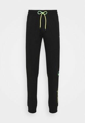 CUFF PANTS - Teplákové kalhoty - black