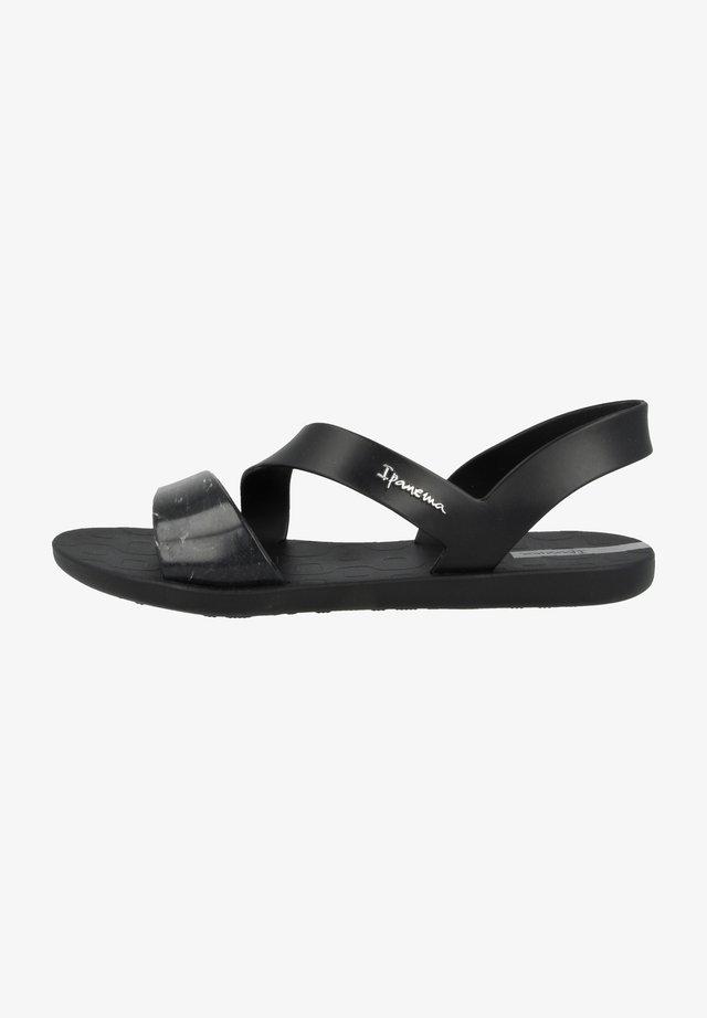 Sandaler - black-splash clear