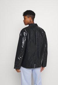 Weekday - ZANA SHORT JACKET - Light jacket - black - 2