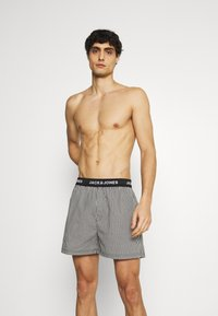 Jack & Jones - JACMEYER TRUNKS 3 PACK - Boxer shorts - black/grey - 0