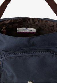 TOM TAILOR - Across body bag - blue - 4