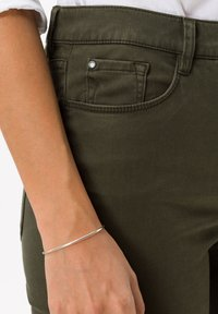 BRAX - STYLE CAROLA - Trousers - dark olive - 3
