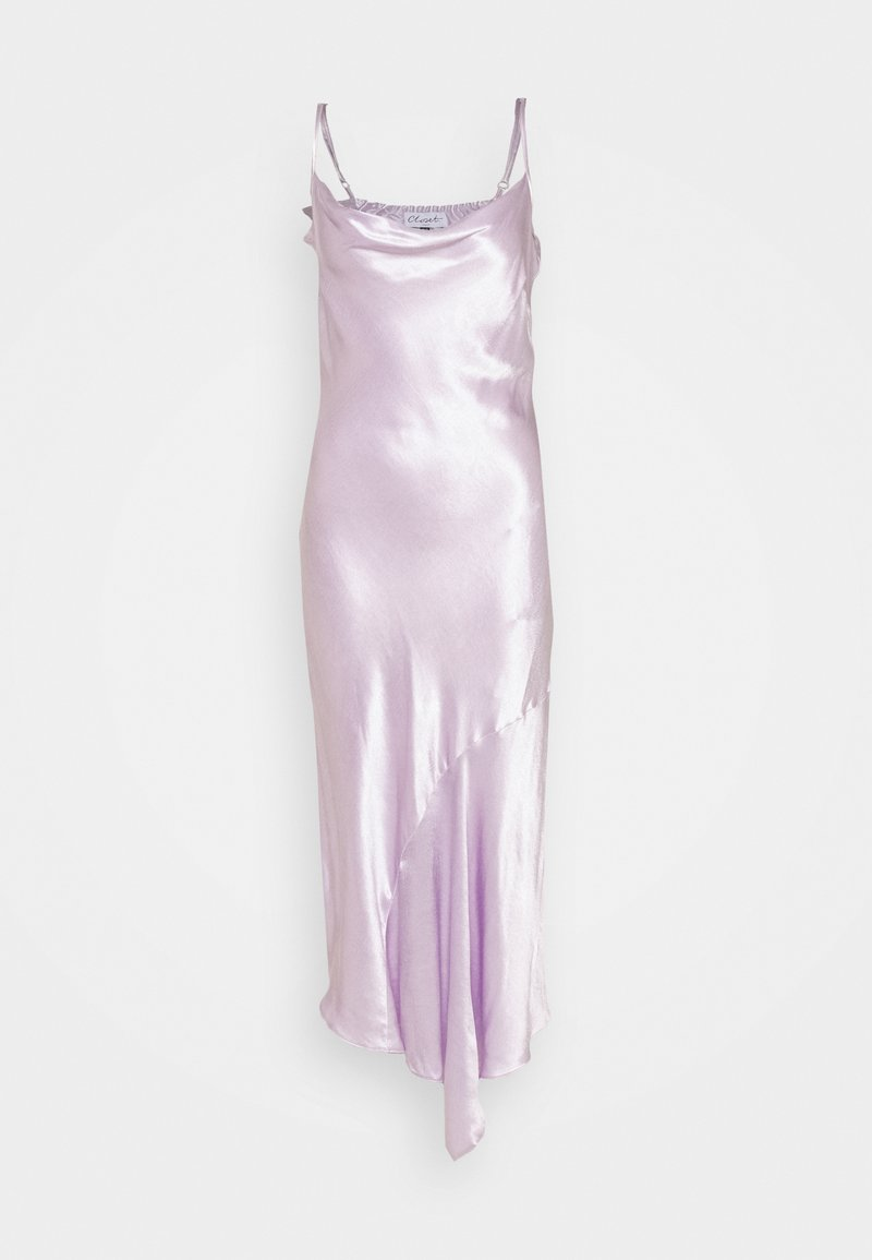Closet - CLOSET BIAS CUT DRESS - Cocktailjurk - lilac