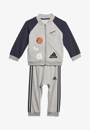 COLLEGIATE TRACKSUIT - Trainingsanzug - grey