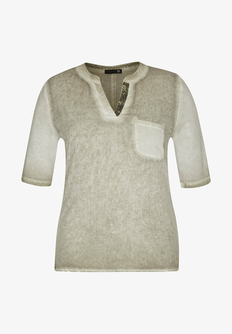 TR - Print T-shirt - oliv