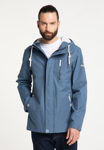 Waterproof jacket - graublau