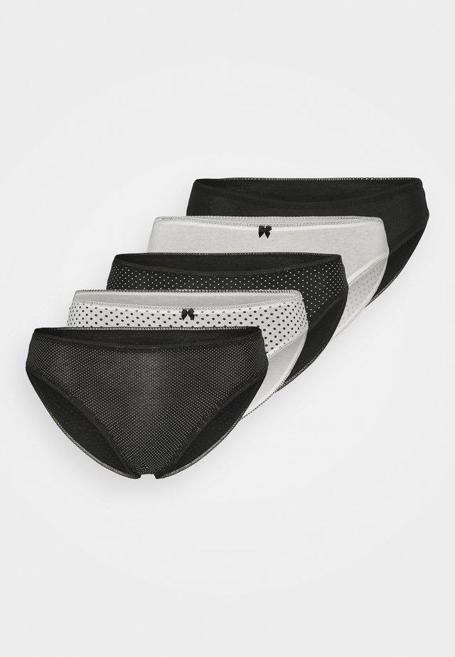 MONO 5 PACK - Slip - black mix