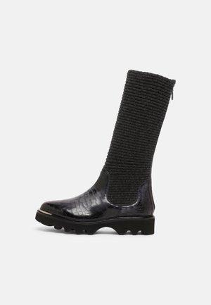 ELENA  - Platform boots - grey