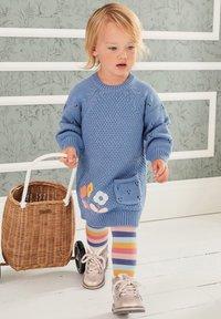 Next - Jumper dress - blue - 0