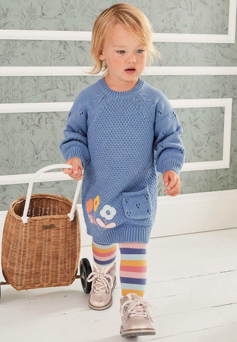 Next - Jumper dress - blue