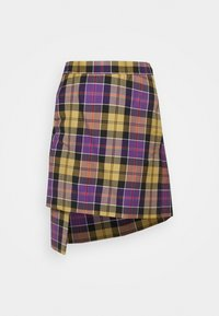 Vivienne Westwood - CASE SKIRT - Mini skirt - multicoloured