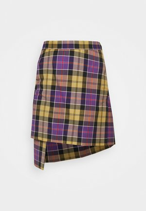 CASE SKIRT - Mini skirt - multicoloured